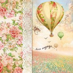 4 x Single Paper Table Napkin//33cm//3-Ply//Decoupage//Nursery//Good Night Louise