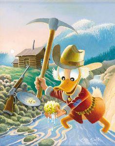 Carl Barks - Eureka ! A Goose Egg Nugget (1996)