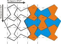 Mosaicos tipo Escher 2 Escher Art, Mc Escher, Tangle Patterns, Wall Patterns, Mathematical Drawing, Tessellation Art, Geometric Drawing, Art Lessons Elementary, Art Programs