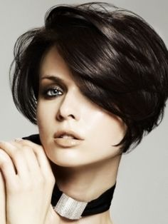 awesome Idée coupe courte : Haircuts for thin hair: Short Hairstyles For Fine Hair 2013 Bobbed Hairstyles With Fringe, Messy Bob Hairstyles, Thin Hair Haircuts, Trendy Hairstyles, Short Hair Cuts, Bob Haircuts, Wedding Hairstyles, Hairstyles Haircuts, Layered Hairstyles