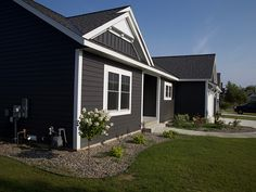 With summer fast approaching, now is the perfect time to increase your home's curb appeal. An easy way to give your home some new life is to update the siding. Here are some things to think about when replacing your siding. Exterior Siding, Exterior House Colors, House Siding Options, Ranch House Remodel, Steel Siding, Mountain Homes, Vinyl Siding, Old Houses, Curb Appeal