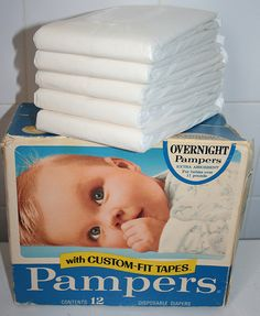 vintage pampers diapers | Recent Photos The Commons Getty Collection Galleries World Map App ...