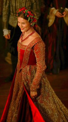 Joss Stone as Anne of Cleves, 4th Wife of Henry VIII, in THE TUDORS