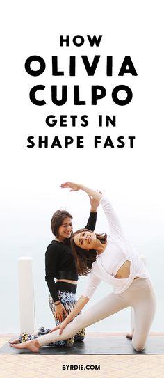 How to work out like Olivia Culpo