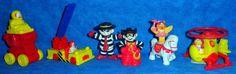 Ronald McDonald, Hamburgler,  McDonald Toys 1995 Lot of 6  E6 #McDonalds