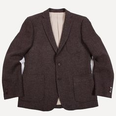 United Tailors Carignan Blazer in Chestnut | Frank & Oak
