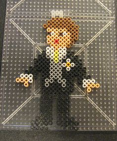 Wedding Groom perler beads by Flood7585