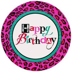 Pink and Green Leopard Print Large Paper Plates  sc 1 st  Pinterest & Pink and Green Leopard Print Small Paper Plates (10ct) | Animal ...