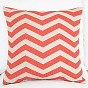 "18"" Chevron Zig Zag Waves Pattern Cotton/Line... – GBP £ 10.43"