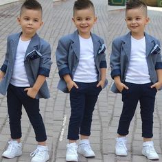 Ideas baby boy outfits swag casual for 2019 Toddler Boy Fashion, Little Boy Fashion, Toddler Boy Outfits, Dresses Kids Girl, Fashion Kids, Toddler Girl, Spring Fashion, Girl Fashion, Fashion Dresses