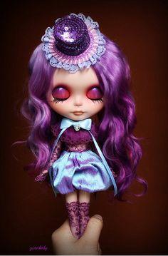 OOAK Blythe Art Doll, Custom by G.Baby