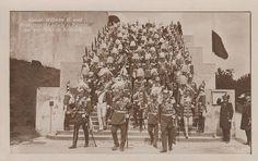 Kehlkeim Kaiser Wilhelm II.  und Prinzregent Ludwig von Bayern