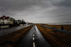 Ægissíðan in Reykjavik by Dagur Jonsson on 500px Aegissida street is located by the sea in the west part of Reykjavik.