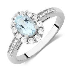 Aquamarine Ring from Michael Hill