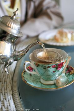 Attend a traditional afternoon tea party.