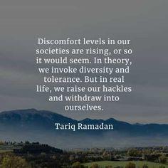 Tolerance Quotes, Tariq Ramadan, Timothy Keller, Salman Rushdie, Martina Mcbride, Chinese Proverbs, Presents For Men, Oppression, Real Life
