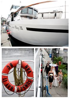 A & V | Real Wedding on the water | The Wedding Yacht | <3