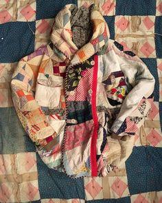 いいね!1,577件、コメント22件 ― KAPITALさん(@kapitalglobal)のInstagramアカウント: 「#patchwork #quilting #quilt #antiquequilt #ringcoat #kountry #kapital #kapitalebisu」