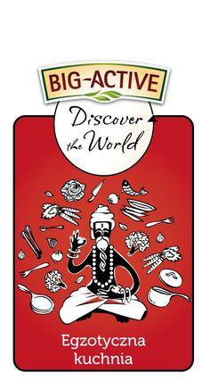 Jeśli rozpływasz się przy aromatach orientalnej kuchni, Indie są wymarzonym celem wszystkich Twoich podróży, a w kuchennej szafce masz zapasy kardamonu, cynamonu i Garam masali na całe lata -  to wyzwanie jest dla Ciebie! Poznaj wszystkie smaki indyjskiej kuchni, barwną kulturę i zwyczaje tego  dalekiego kraju. Przez chwilę poczuj się jak rodowita hinduska, w pięknym barwnym sari i z dłońmi wymalowanymi henną! Więcej na temat wyzwania znajdziesz tu http://big-active.pl/odkryj-to-co-lubisz