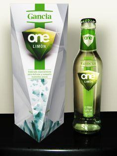 Gancia ONE packaging by Manuel Martinez Campagna, via Behance