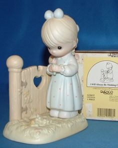 Precious Moments Figurine - pm 523631, I Will Always Be Thinking Of You w/box #PreciousMoments