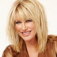 Suzanne Somers layered haircut