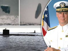 PHOTOGRAPHS revealing bizarre UFOs claimed to have been taken by a US Navy submarine crew have been hailed as the best EVER evidence of extra-terrestrial visits to Earth.
