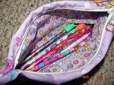 Diy back to school : DIY pencil bag