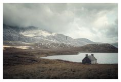 Scotish Highlands loic le quéré  from behance