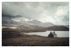 scottish highlands by loic le quéré, via Behance