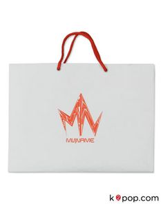"K2POP - MYNAME CONCERT ""THE BEGINNING"" OFFICIAL GOODS - SHOPPING BAG"
