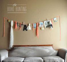 DIY: Boho Bunting