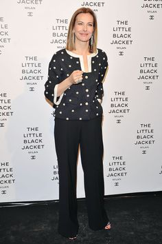 Carole Bouquet attends Chanel The Little Black Jacket - Karl Lagerfeld Photography Exhibition Dinner Party on April 4, 2013 in Milan, Italy. - 5 of 9