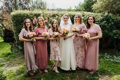My gorgeous Bride Lisa and her wedding party in the Yarra Valley   Bridal hair and makeup by Vivian Ashworth hair and makeup  @vivianashworth_   Photographer  📸 Chris Garbacz @chris_garbacz  Flowers 💐 were done by  Laura Naim   Wedding dress and the bridesmaid dresses handmade by the Bride 👰 #love #justmarried #mrandmrs #truelove #bridalmakeup #bridalhair #countryweddings #yarravalleyweddings
