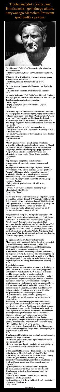 """–  Przed barem """"Zodiak"""" w Warszawie, gdy robotnicyukładali chodnik- """"Tyle dróg budują, tylko, ku**a, nie ma dokąd iść!"""".W hotelu,…"""