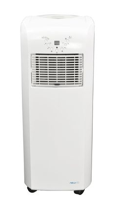 Ultra Compact 10,000 BTU Portable Air Conditioner with Remote