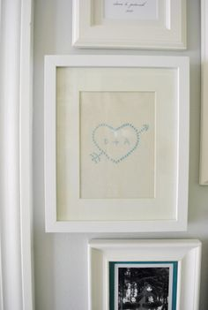 a little faux cross-stitch by @Sherry @ Young House Love I'm doing this!!