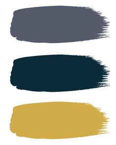 "From top to bottom ""Juniper Ash"", ""Hicks' Blue"" & ""Yellow Pink"" Little Greene. Purple Bedrooms, Blue Bedroom, Trendy Bedroom, Bedroom Colors, Diy Bedroom, Bedroom Neutral, Bedroom Ideas, Master Bedroom, Colour Schemes"
