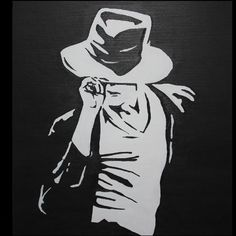 michael+jackson+silhouette | Michael Jackson silhouette - Folksy