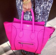 Hot Pink Celine Handbag....