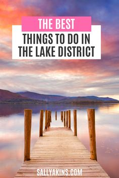 When it comes to stunning scenery in the UK, the Lake District in Cumbria has some of the best. It's the ideal spot for a peaceful holiday in England. So take a look at some of the most picturesque locations in the Lake District, including stunning lakes, quaint villages and dramatic landscapes #LakeDistrict #England #UK #travel Cosy Cafe, Holidays In England, Next Holiday, Cumbria, England Uk, Beautiful Places To Visit, Lake District, London Travel, World Heritage Sites