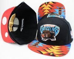 NBA Vancouver Grizzlies Snapback Hat (3)  b1c73959cee6