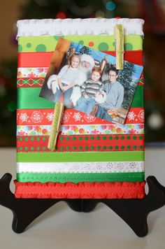 canvas and ribbon oh my by mistyselak on Etsy, $12.00