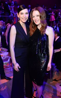 Julianna Margulies and Julianne Moore