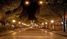Дерибасовская ночью