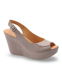 Take a look at this Nebbia Sharon Platform Slingback by Kork-Ease on #zulily today!