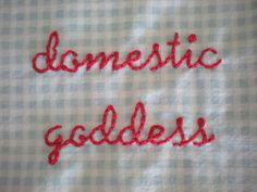 apron pocket embroidery