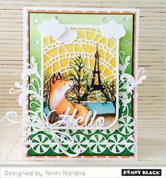 Penny Black's Lovely Layers Ladies feature our stamps, stencils, and dies: Click through for videos, supply lists, and instructions