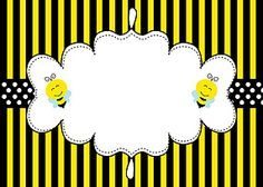 Abelhinhas - Minus Borders For Paper, Borders And Frames, Bee Pictures, Bee Images, Bee Creative, Cartoon Clip, Spelling Bee, Bee Party, Bee Theme