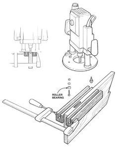 AW Extra 1/16/14 - Mortise Centering Jig - Woodworking Shop - American Woodworker